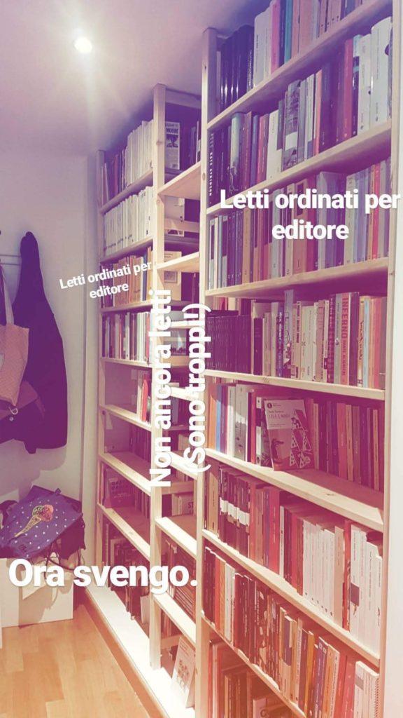 sistemare libreria