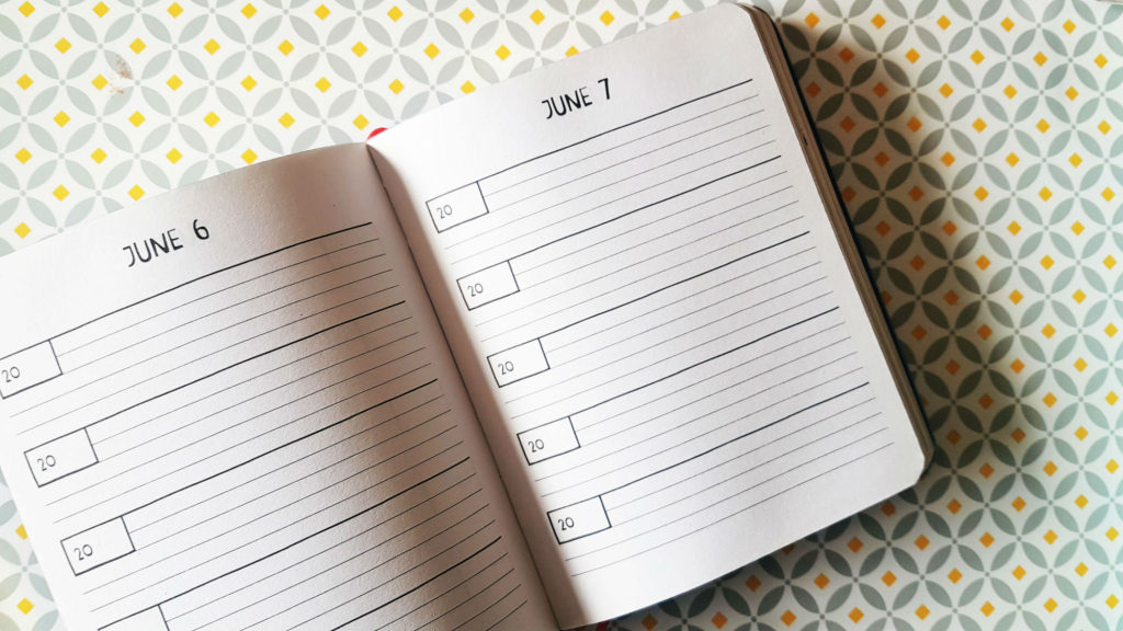five-year diary