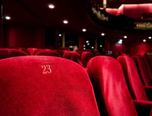la platea di un teatro